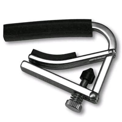 Shubb L1 Capo, Shubb Lite, for Steel String Guitar, Nickel