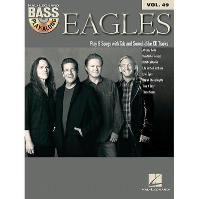 Vol 49 Eagles Book + CD /  / Hal Leonard