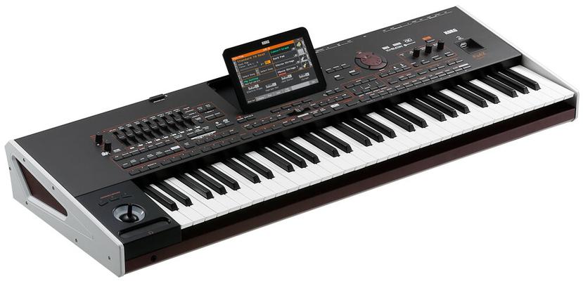 Korg Pa4X 61 touches entertainer workstation oriental