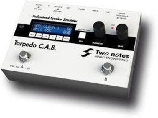 TWO NOTES Torpedo C.A.B
