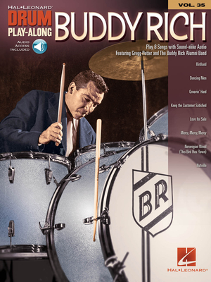 Drum Play-Along / Buddy Rich Drum Play-Along Volume 35 / Buddy Rich / Hal Leonard