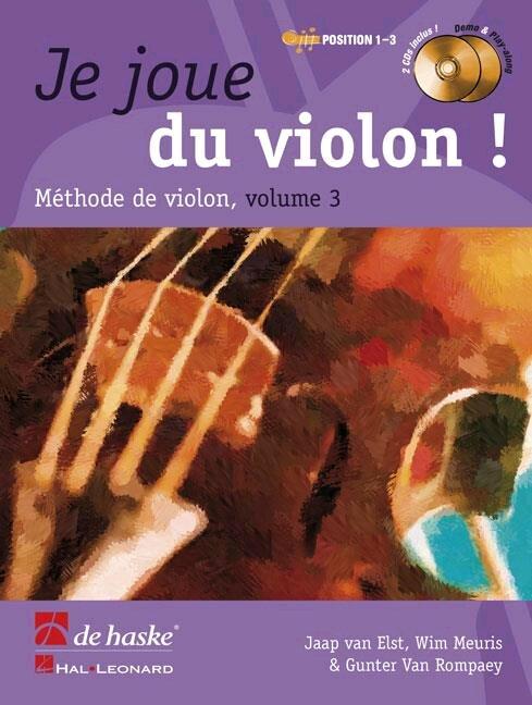 Je joue du violon vol. 3 / Van Elst/Meuris/Van Rompaey / De Haske : photo 1