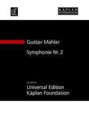 G Mahler. Symphonie 2. study score partition orchestre de poche / Gustav Mahler  / Universal