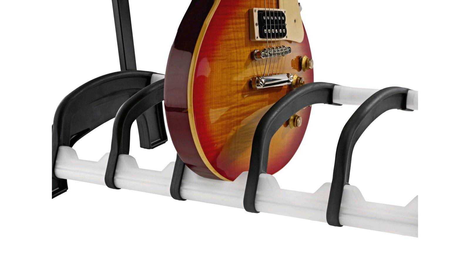 K & M 17525 – e-guitar stand Guardian 5 – Translucide : photo 3