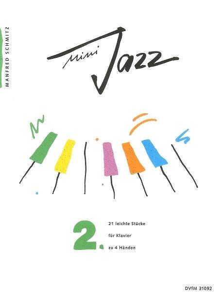 Mini Jazz Vol 2 – 21 leichte Stücke /  / Deutscher Verlag f. Musik : photo 1