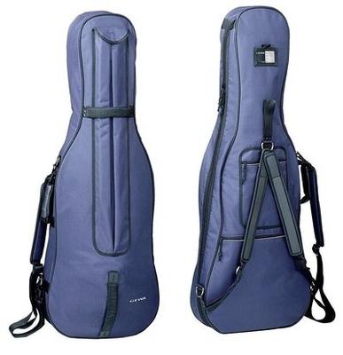 Gewa Housse Violoncelle 1/2 Tex Bleu 3MM Classic