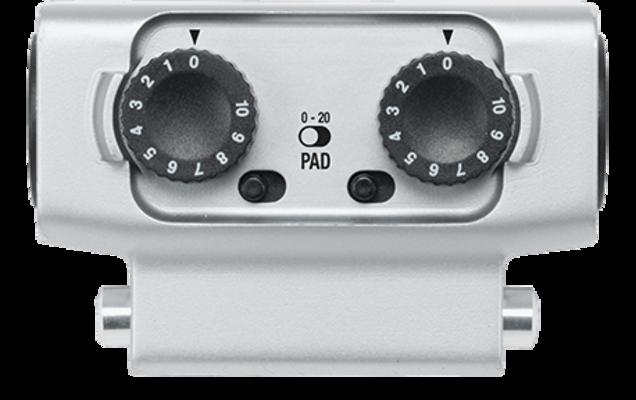 Zoom EXH-6 Dual XLR/TRS Combo Input Capsule pour H5 et H6 Recorders