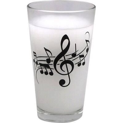 Music Sales Ltd Pint Glass – Wavy Staff