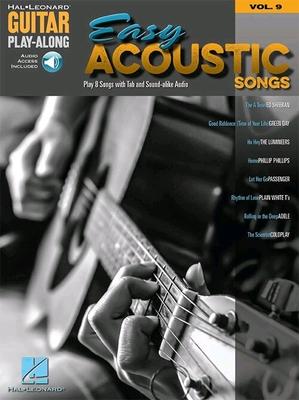 Easy Acoustic Songs – Guitar Play-Along Volume 9 /  / Hal Leonard