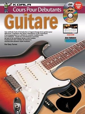 Cours Pour Débutants : Guitare (Livre/CD/DVD) /  / Koala publications