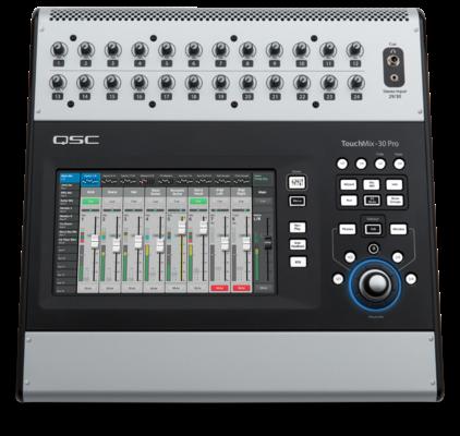 QSC TouchMix 30-Pro Professional Digital Mixer