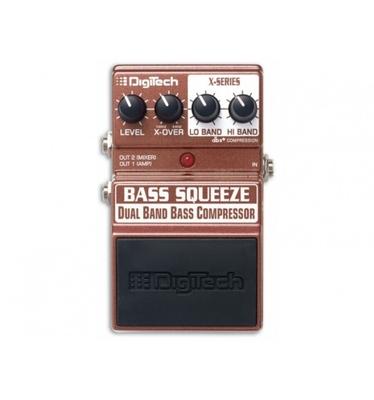 Digitech XBS – Bass Squeeze – Bass Compressor / Sustainer
