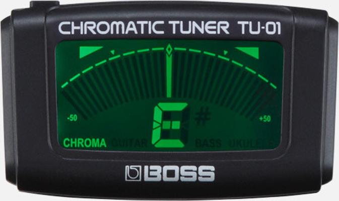 Boss TU-01 Clip Chromatic Tuner