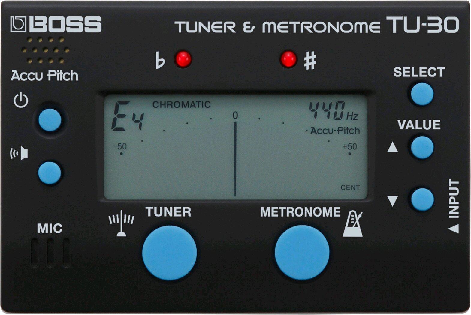 Boss TU-30 Tuner & Metronome : photo 1