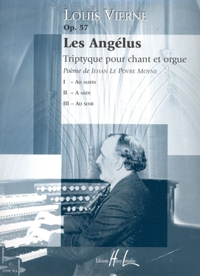 Les Angelus op 57 pour orgue de Louis Vierne / Louis Vierne / Henry Lemoine