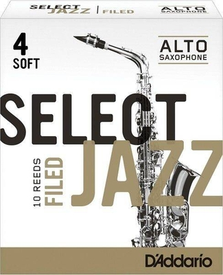 Rico Jazz Sax Alto 4S Boîte De 10