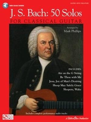 Johann Sebastian Bach – 50 Solos / Johann Sebastian Bach / Cherry Lane