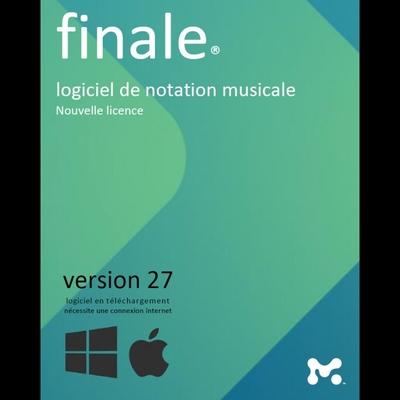 MakeMusic Finale 26 edition partition, séquenceur, impression mac & PC