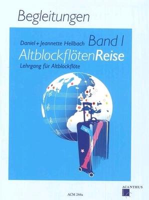 Altblockflöten Reise Band 1 (Begleitungen) Daniel & Jeanne Hellbach  /  / Acanthus