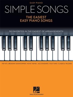 Simple Song Easiest Easy /  / Hal Leonard