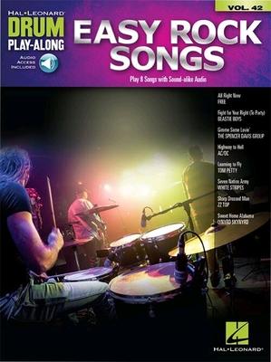 Drum Play-Along Volume 42: Easy Rock Songs (Book/Online Audio) /  / Hal Leonard