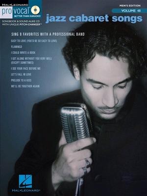 Pro Vocal Men's Edition Volume 48: Jazz Cabaret Songs (Book/CD) /  / Hal Leonard