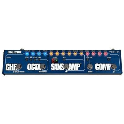 Tech 21 FlyRig 5 Bass Sansamp Comp OctaFilter Chorus & Boost in one Pedal