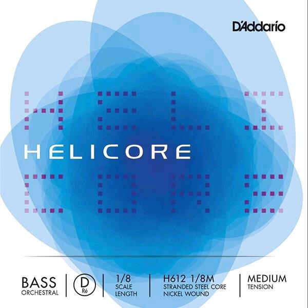 Thomastik Contrebasse 1/8 HELICORE orchestre 2e RE-D moyen : photo 1