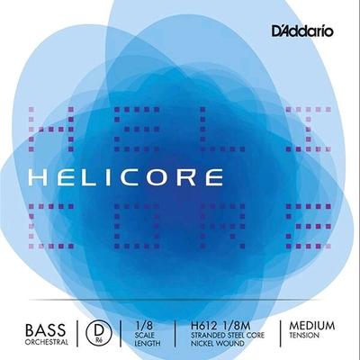 Thomastik Contrebasse 1/8 HELICORE orchestre 2e RE-D moyen