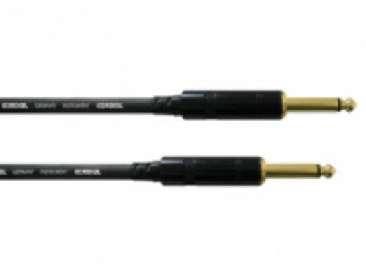 Cordial CCI 1.5 PP câble instrument 1.5m noir