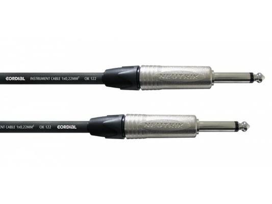 Cordial CXI 3 PP câble instrument 3m
