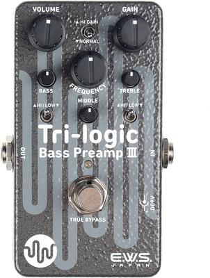 E.W.S. Japan Tri-Logic Bass Preamp 3