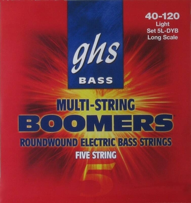 GHS Boomers Light 040» – 120»