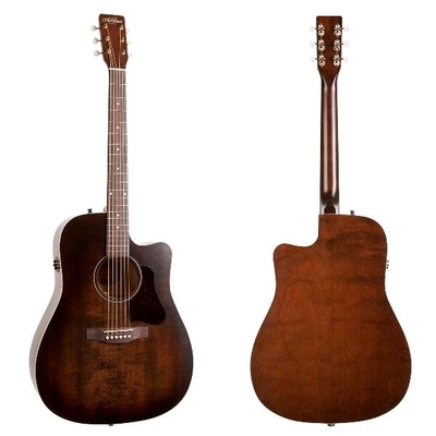 Art & Lutherie Dreadnought Americana Bourbon Burst with QIT & Cutaway