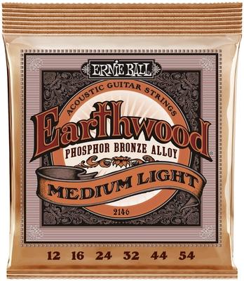 Ernie Ball Earthwood Phosphor Bronze Medium Light 12-54