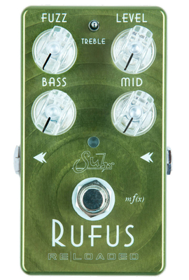 Suhr Guitars Rufus Fuzz Reloaded Pedal