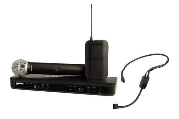 Shure BLX1288E/PG31-M17 PG Wireless Analog, Combo, PG31, PG58