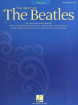 Chart / The Best Of The Beatles for Cello – 2nd Edition / The Beatles / Hal Leonard