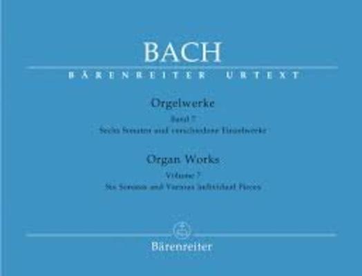 Orgelwerke 7 / Johann Sebastian Bach / Bärenreiter