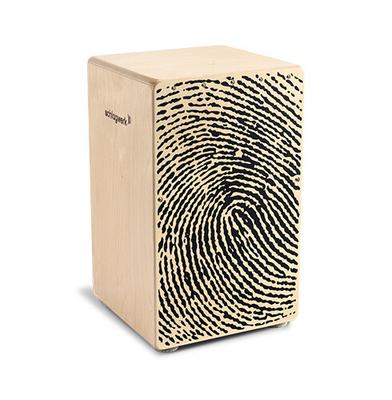 Schlagwerk Percussion CP118 Cajon X-One Fingerprint medium