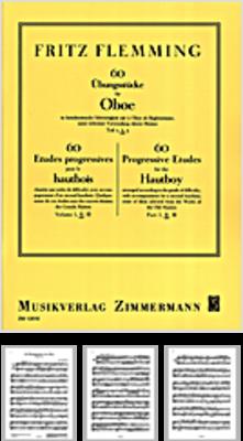 60 bungsstücke für Oboe Teil 2 /  / Zimmermann