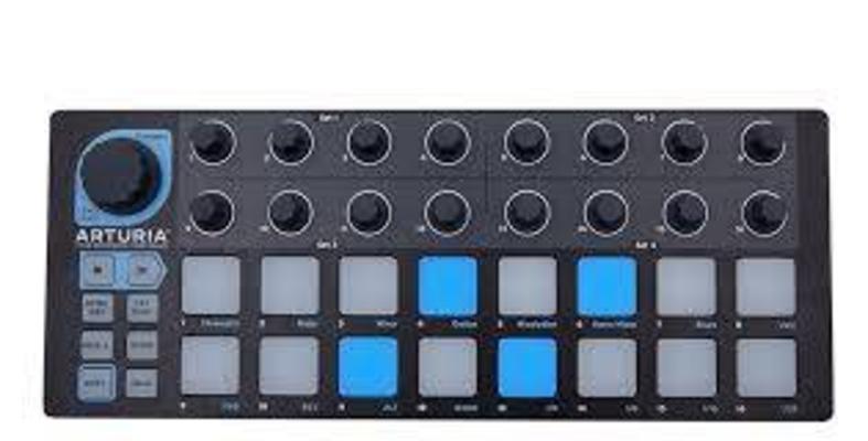 Arturia Beatstep Limited Black Edition mit CV Cable Kit
