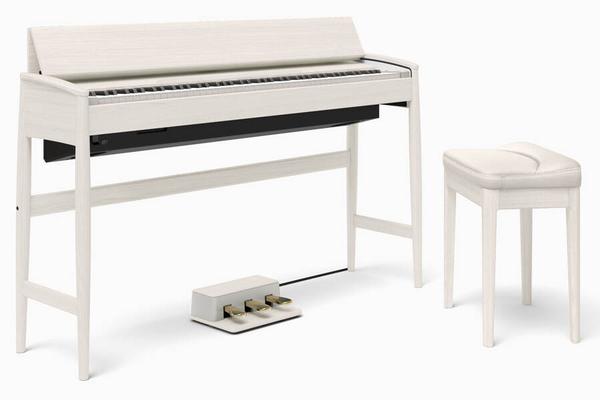 Roland KF-10-KSB Kiyola Sheer White – Roland & Karimoku