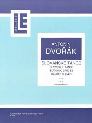 Slawische Tänze op 72 / Antonin Dvorak / Bärenreiter