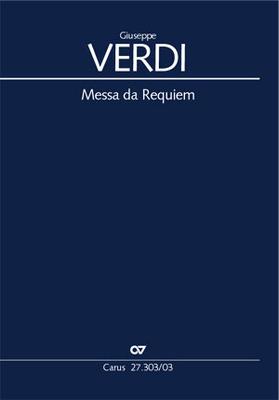 Messa da Requiem Réduction chant et piano / Giuseppe Verdi / Carus