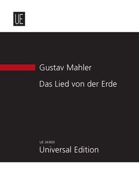 Das Lied von der Erde / Gustav Mahler / Universal Edition