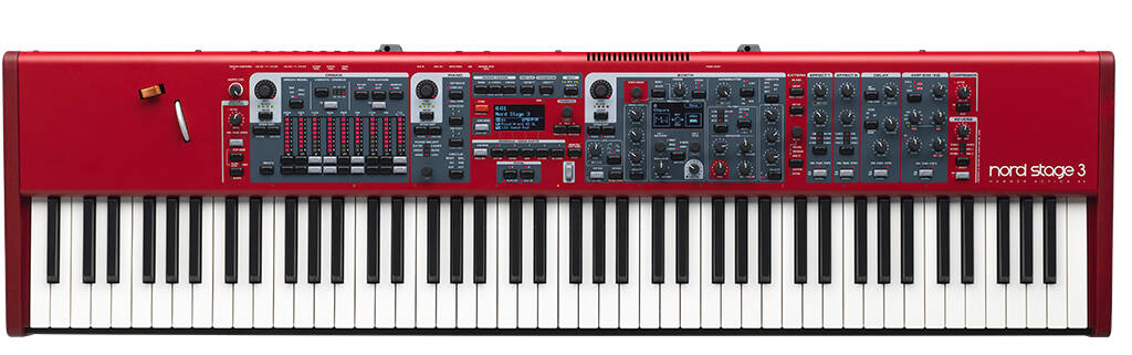 Clavia Nord Stage 3 88 Stage Piano / Master Keyboard : photo 1