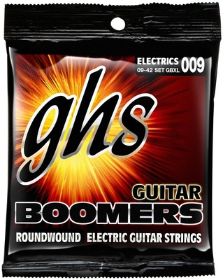 GHS SET GBXL-3 Boomers Extra Light .009-.042