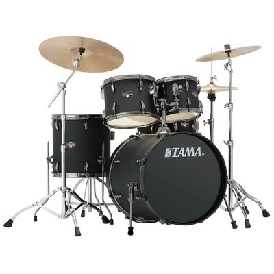 Tama IP50H6N-BBOB Imperialstar Kit 20» tom 10»,12»,14» snare 14» + hardware – Blacked out Black