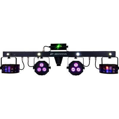 JBSYSTEMS PARTY BAR DJ-bar with laser + led par/effect/strobe + remote